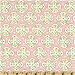 FH-769 Wildflowers & Sweet Treats Flannel Ice Cream Parlor Pink