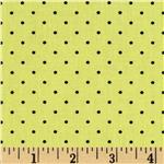 0273440 Bee Happy Dots Yellow/Black