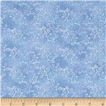 0284511 Silent Harmony Swirls Soft Blue