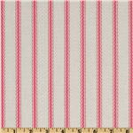 Saddle Up Ticking Stripe Pink