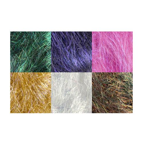 Angelina Straight Cut Fibers Forest Blend 6 Piece Assortment