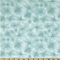 Ty Pennington Impressions Water Flower Ice Blue