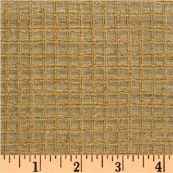 Raw Silk Shirting Squares Camel