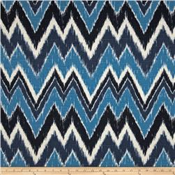 Duralee Home Mell Chevron Blue