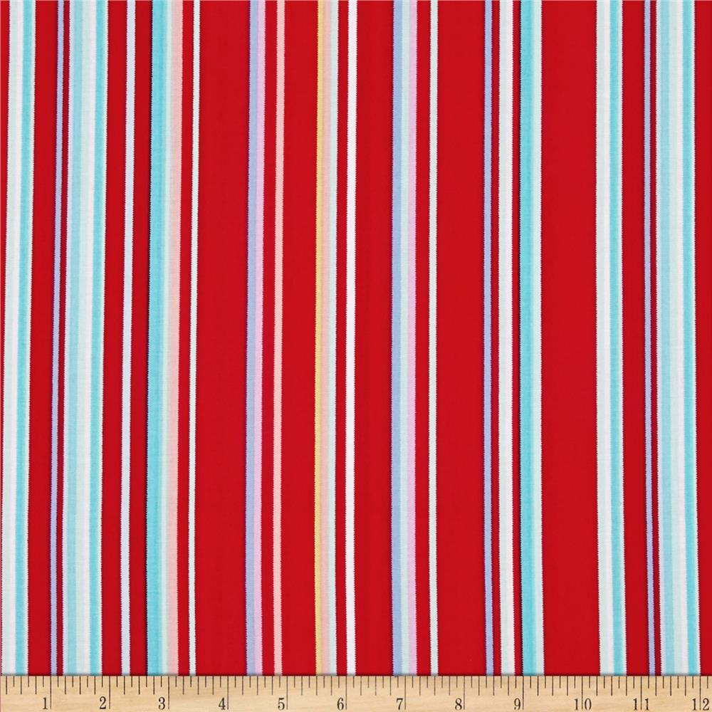 Cynthia Rowley Paintbox PaintBox Stripe Flame