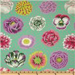 EP-502 Kaffe Fassett Big Blooms Green