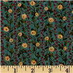0263181 Tidings Ivy &amp; Berries Teal