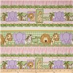 Kimba Animal Repeating Stripe Pink