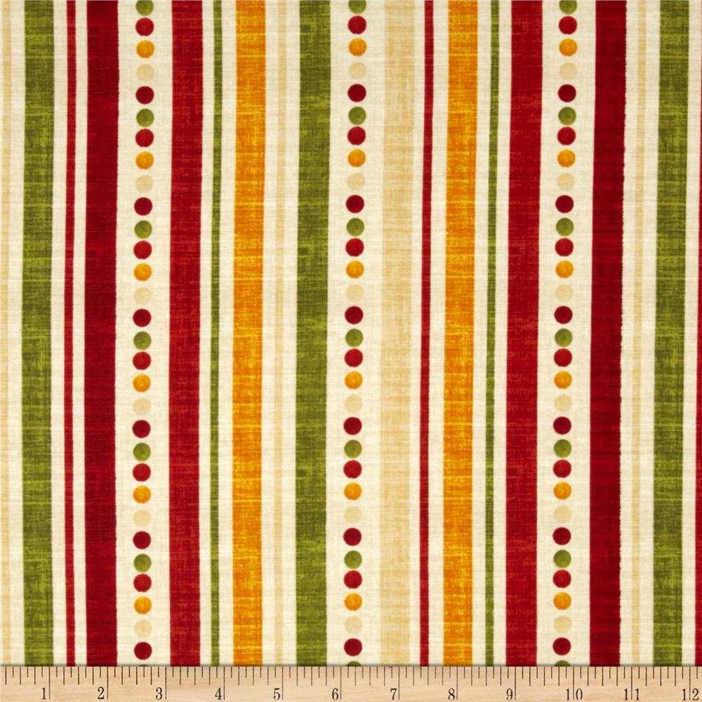 Poppy Love Ticking Stripe Crme