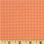 EH-255 Michael Miller Mini Mikes Tiny Gingham Orange