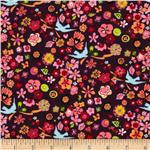 Folklorico Lupe Floral Brown