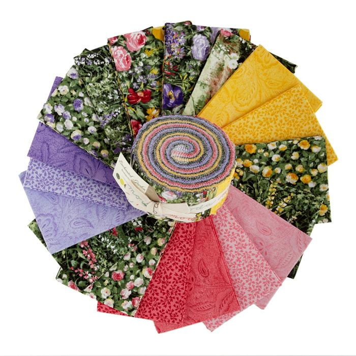 Moda Enchanted Garden 2 1/2'' Jelly Roll
