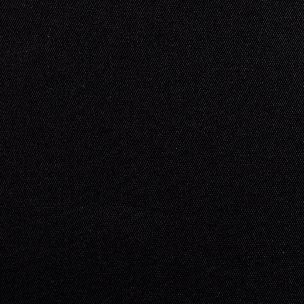 Organic Cotton Twill Black