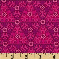 Anthology II Geo Fuchsia