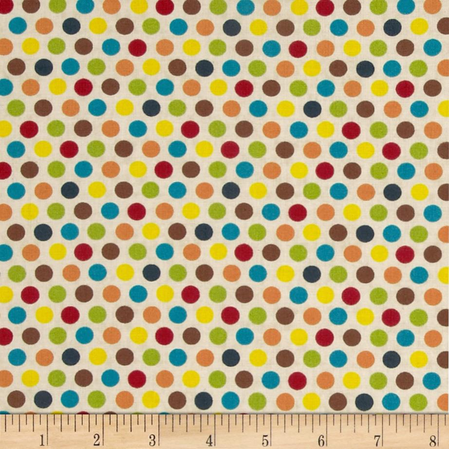 Sunshine Zoo Polka Dots Tan