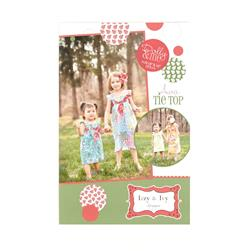 Izzy & Ivy Ava Tie Top Dress Booklet
