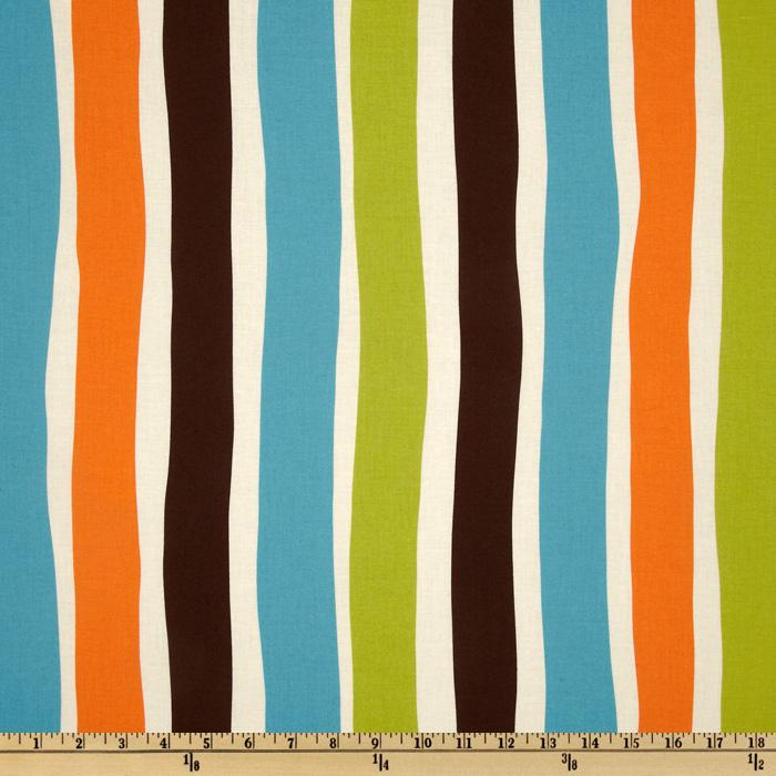 Moda Oh Deer! Whimsy Stripes Meadow