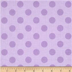 Riley Blake Medium Dots Tone on Tone Lavender