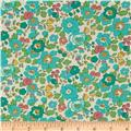 Liberty Of London Tana Lawn Betsy White/Mint/Aqua