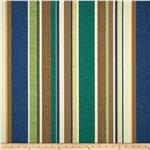 0284242 Richloom Solarium Outdoor Coltrane Stripe Chambray