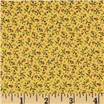 0291109 Party of Twelve Small Flowers Yellow