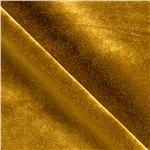 Stretch Velvet Dark Gold