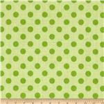 0271797 Riley Blake Small Dots Tone on Tone Green