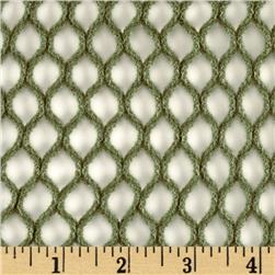 Sweater Fish Net Olive