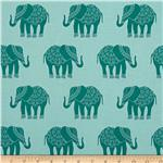 0279057 Riley Blake Madhuri Elephant Blue