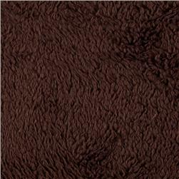 Double-Sided Minky Fleece Chocolate