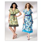 KP-3949 Kwik Sew Misses Faux Wrap Dress Pattern