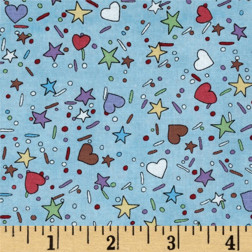 Sweet Shoppe Stars Blue