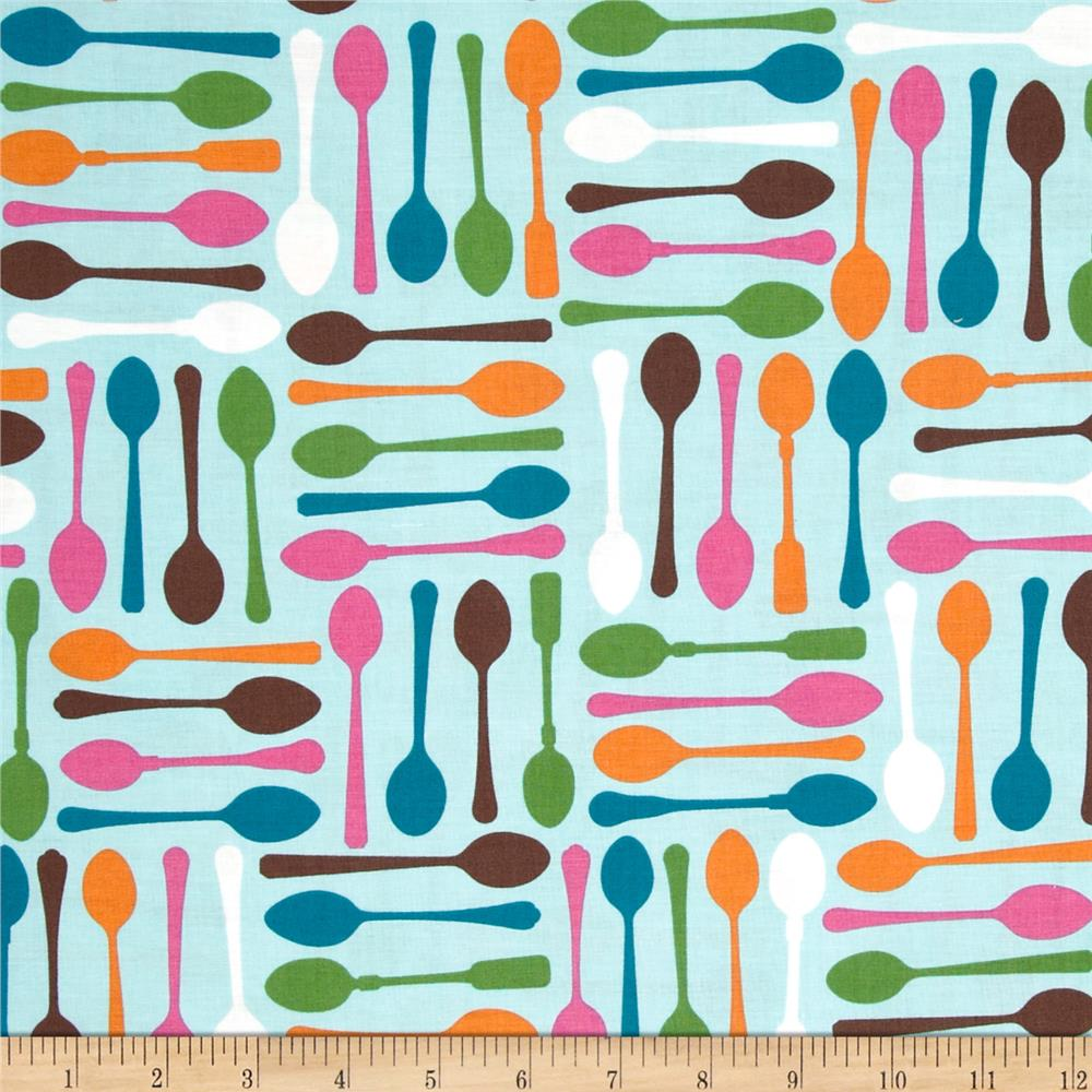 Cream & Sugar Spoons Multi