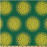 216457 Photochrome Petals Dotted Circles Aqua