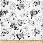 0301118 Tuxedo Hazy Floral Grey