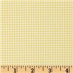 DX-254 Michael Miller Tiny Gingham Citron