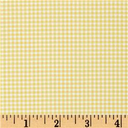 Michael Miller Tiny Gingham Citron