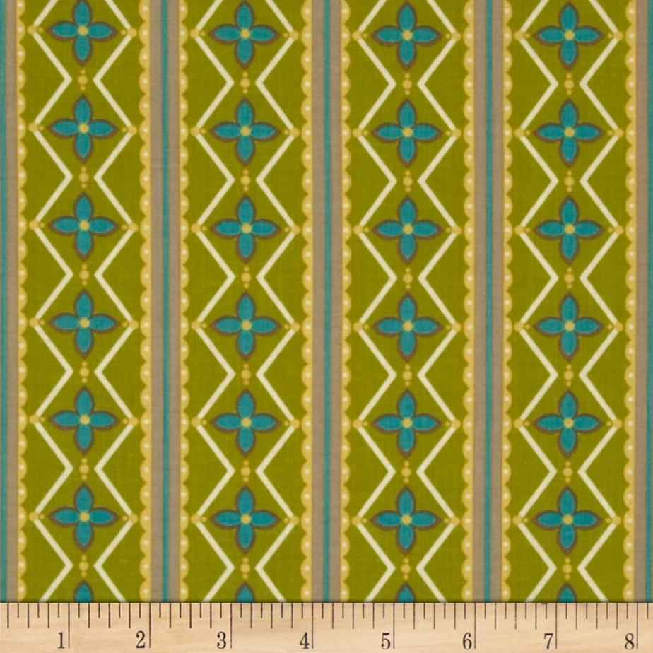 Summer House Stripe Green