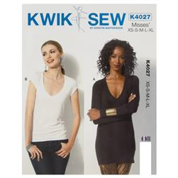 Kwik Sew Misses T-Shirt Pattern