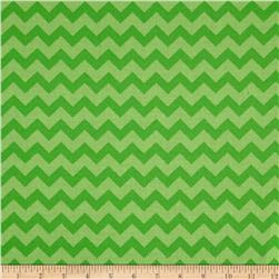 Chevron Tonal Lime/Light Lime