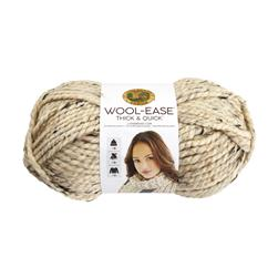 Lion Brand Wool-Ease Thick & Quick Yarn (123) Oatmeal
