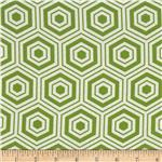 Bella Hexagons Green