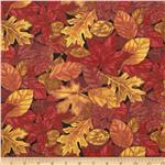 0284502 Pumpkin Spice Packed Leaves Rust