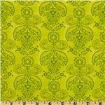 Picadilly Lane Damask Lime
