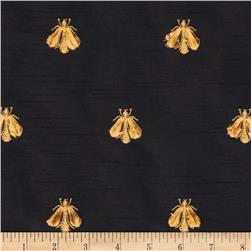 Tempo Embroidered Bumble Bee Taffeta Black