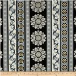 0300779 Chateau Medallion Border Noir