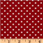 Crazy for Dots & Stripes Dottie Red/White