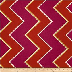 Robert Allen Crypton Chevron Style Poppy