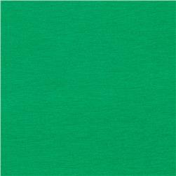 Stretch Rayon Jersey Knit Green