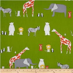 Zaza Zoo Animals Green